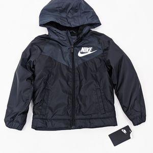 Nike Boys Water Repellent Fleece Lined Jackey 6